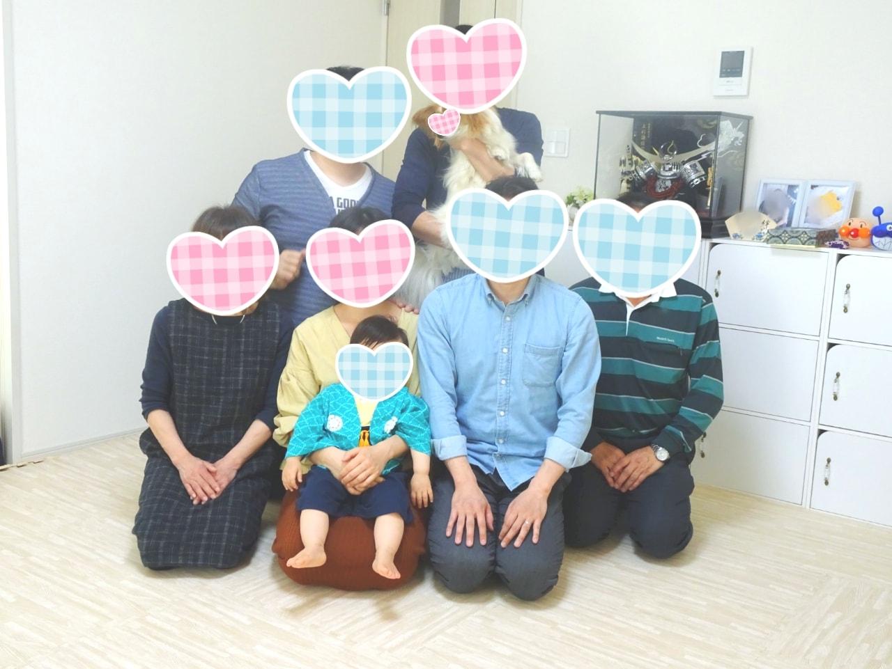 息子の初節句&誕生日祝い当日レポ★